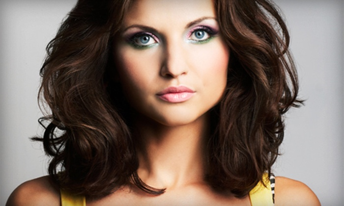 M Salon & Beauty Supply - Paradise Valley: Haircut and Deep Conditioning with Optional Color Retouch or Partial Highlights at M Salon & Beauty Supply (Half Off)