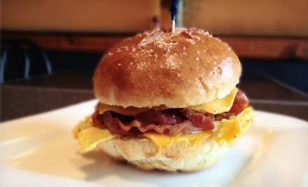 $20 for Two Groupons, Each Good for $20 Worth of Gourmet Pretzels, Burgers, and Pizza at Le Bretzel ($40 Total Value)
