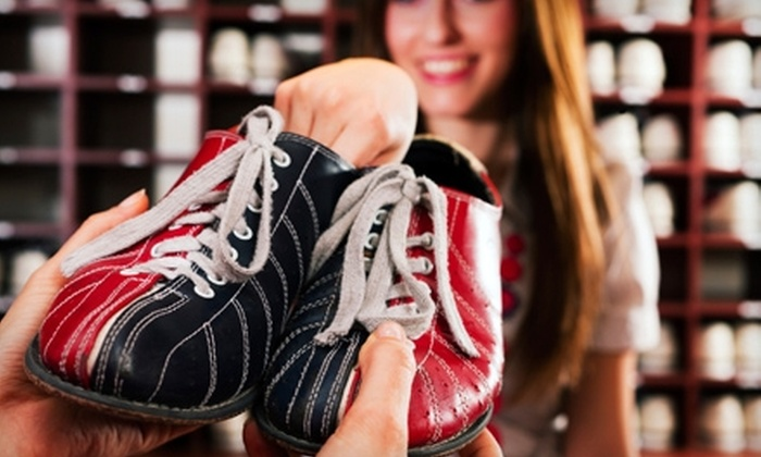 Deer Park Bowl - Deer Park: Bowling for Six with Shoe Rentals and Pizza Monday–Thursday or Friday–Sunday at Deer Park Bowl (Up to 60% Off)