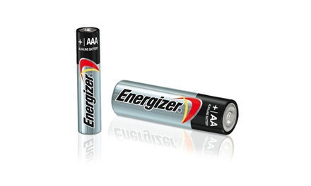 50-Pack of Energizer Max AA or AAA Alkaline Batteries