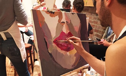 BYOB Painting Class for One or Two at Paint & Jrink (Up to 44% Off)