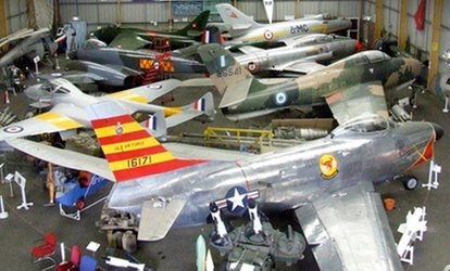 image for Entry to North East Land, Sea and Air Museums for Two Adults or a Family (50% Off)