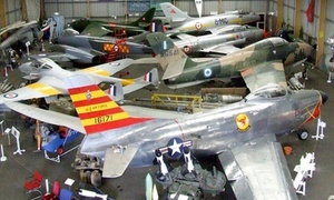 North East Land, Sea and Air Museums: Entry to North East Land, Sea and Air Museums for Two Adults or a Family (50% Off)