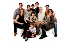 Cavendish Studios: Family Photoshoot With Framed Print for £14 at Cavendish Studios (96% Off)