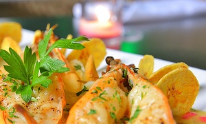 Vacca Grill & Lounge: Latin-Influenced New American Meal with House Sangria for Two or Four at Vacca Grill & Lounge (Up to 61% Off)