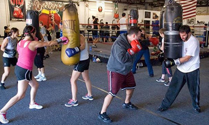 Boston Boxing & Fitness - North Allston: Two or Five Classes with Hands-On Training at Boston Boxing & Fitness (Up to Half Off)