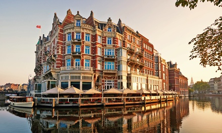 Amsterdam: 1 or 2 Nights for Two with Options for Breakfast and Dinner at the 5* Hotel de L'Europe