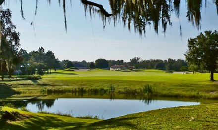Round of Golf for Two or Four with Cart, Range Balls, and Drinks at Deer Island Country Club (Up to 43% Off)