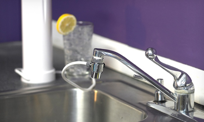 $29 for Clean & Pure Countertop Water Filter | Groupon