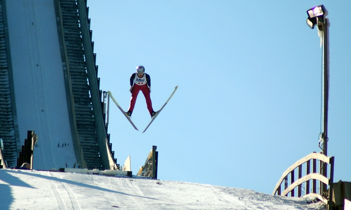 Norge Ski Club - Country View: 110th Annual International Norge Ski Jump Tournament for 2, 4, or 6 at Norge Ski Club, Jan 24–25 (Up to 53% Off)
