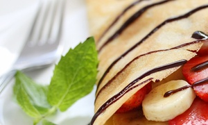 La Crepe Bistro: Up to 45% Off food and drinks at La Crepe Bistro