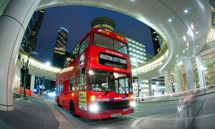 Double-Decker Bus Tour for Two or Four from Houston City Tours (Up to 49%Off)