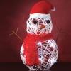 Decorative 15'' LED Snowman
