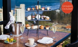 Four Winds 360° Revolving Restaurant: Sparkling High Tea for One ($29) or Six People ($139) at Awarded Four Winds 360° Revolving Restaurant (Up to $264 Value)