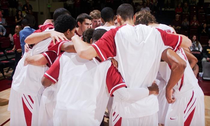 Stanford Men's Basketball - Stanford: $10 for a Stanford Cardinal Men's Basketball Game at Maples Pavilion on November 8, 11, or 14 ($31 Value)