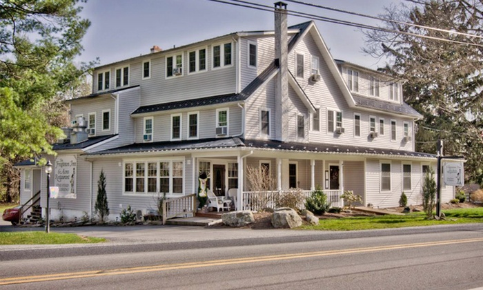 The Frogtown Inn - The Poconos: 1-Night Stay for Two at The Frogtown Inn in the Pocono Mountains. Combine Up to 2 Nights.