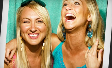 Three- or Five-Hour Photo-Booth Rental from Mitchel's Photography (Up to 62% Off)
