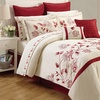 Embroidered Comforter and Sheet Set (12-Piece)