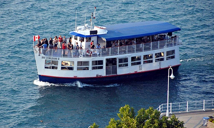 """Duc d'Orleans II - Duc D'Orleans: Lunch Cruise or Sunday Cruise for Two or Four on the """"Duc d'Orleans II"""" (Up to 47% Off)"""