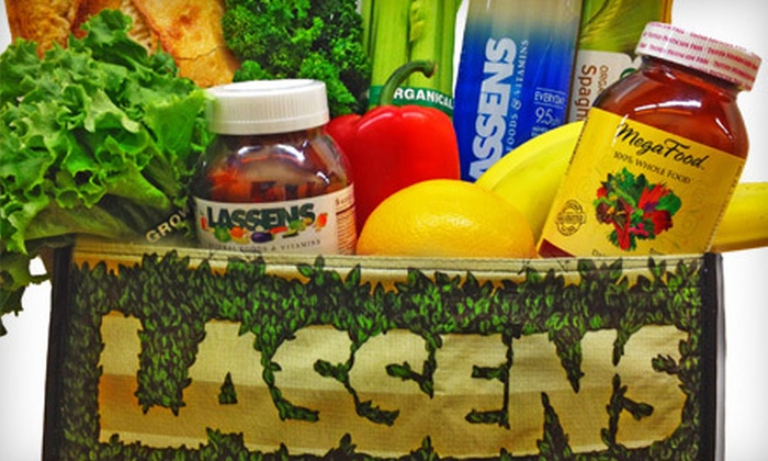 Lassen's Natural Foods and Vitamins - Woodward Park: $10 for $20 Worth of Deli Food, Organic Produce, and Supplements at Lassen's Natural Foods and Vitamins