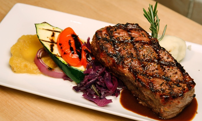 Wildfire Steakhouse & Wine Bar Cosmopolitan - Cosmopolitan Hotel: Four-Course Steakhouse Dinner for Two or Four at Wildfire Steakhouse & Wine Bar Cosmopolitan (Up to 53% Off)