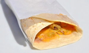 BurgerRito: $8 for Two Groupons, Each Good for $8 Worth of American and Mexican Cuisine at BurgerRito ($16 Total Value)