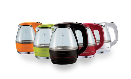 Ovente KG83 Series Illuminated Cordless Electric 1.5L Glass Kettle