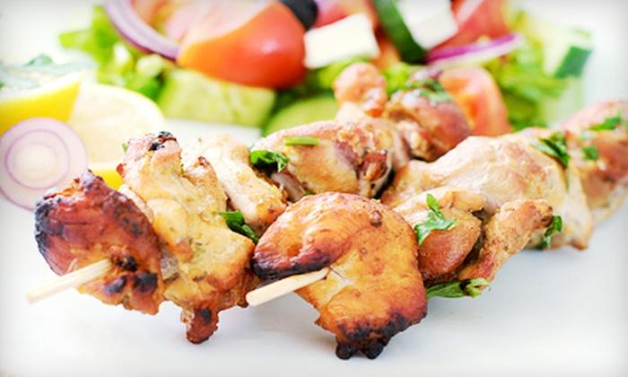 Cafe Zanzibar - Park East Inc.: Mediterranean Cuisine during Lunch or Dinner at Cafe Zanzibar (Half Off)