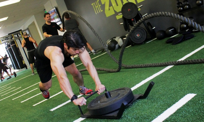 The Zone by Active Sports Clubs- San Ramon & Union Square - Multiple Locations: $49 for One Month of Classes at The Zone by Active Sports Clubs - San Ramon & Union Square ($125 Value)