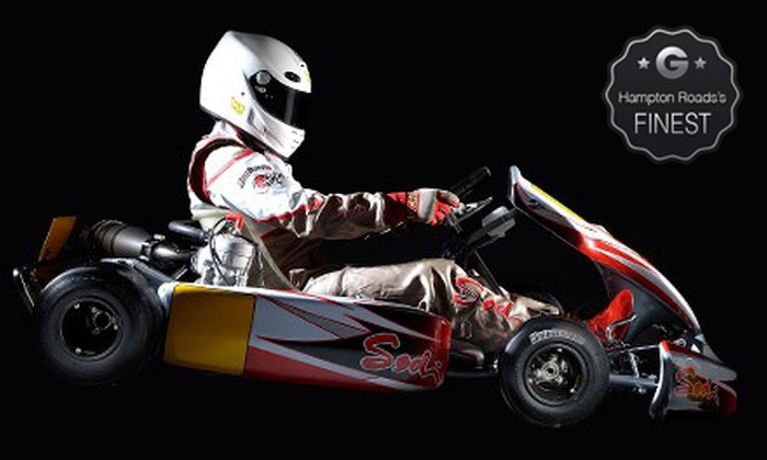 American Indoor Karting - Holland: Two or Three Adult or Junior Kart Races at American Indoor Karting (Up to 59% Off)