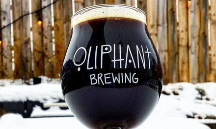Up to 44% Off Tasting Packages at Oliphant Brewing