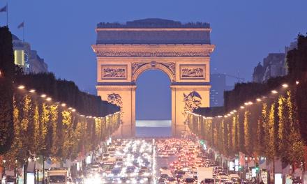 Parijs: studio met ontbijt en naar keuze Seinecruise bij Pavillon Courcelles Parc Monceau voor 2 personen