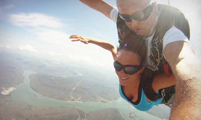 Chattanooga Skydiving Company - Chattanooga Skydiving Company: Tandem Skydive with Digital Video for One, Two, Three, or Four from Chattanooga Skydiving Company (Up to 53% Off)