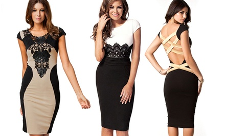 Jade and Juliet Bodycon Dresses
