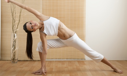 One or Three Months of Unlimited Yoga Classes at Naam Yoga LA (Up to 56% Off)