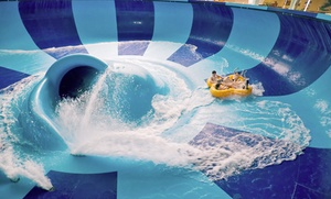 Family-Friendly Resort with Water Park and Arcade Credit at Kalahari Resorts, plus 6.0% Cash Back from Ebates.