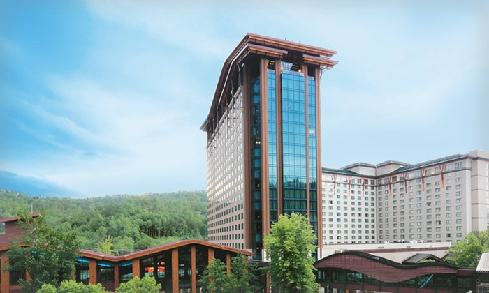 Harrah's Cherokee Casino Resort - Asheville: Stay with Resort Credit at Harrah's Cherokee Casino Resort in Cherokee, NC