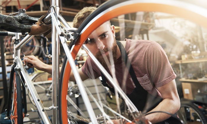Clovis Bicycle Company - Clovis Bicycle Company: Basic Bike Tune-Up for One or Two Bikes at Clovis Bicycle Company (Up to 54% Off)