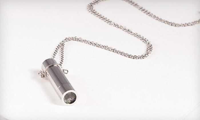 Gemstone Kaleidoscope Necklace: $14 for a Genuine Gemstone Kaleidoscope Necklace ($60 List Price). Free Shipping.
