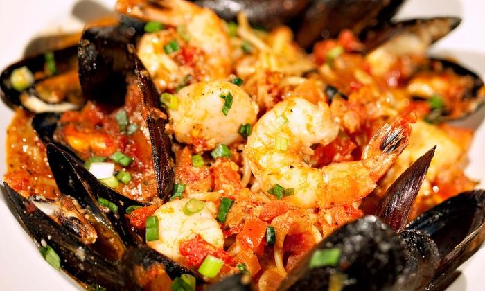 Cinque Terre Restaurant - Davie/Plantation: $21 for Italian Food at Cinque Terre Restaurant ($40 Value)