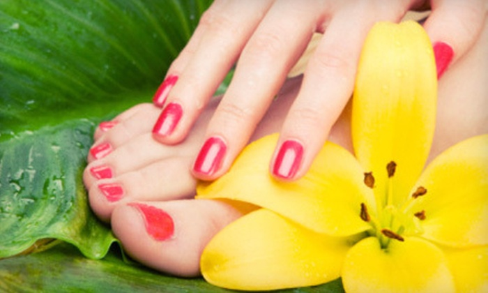 Greatest Nails & Spa - Brea-Olinda: Two Regular Mani-Pedis with Paraffin Treatments or Two No-Chip Manicures and Regular Pedicures at Greatest Nails & Spa in Brea (51% Off)