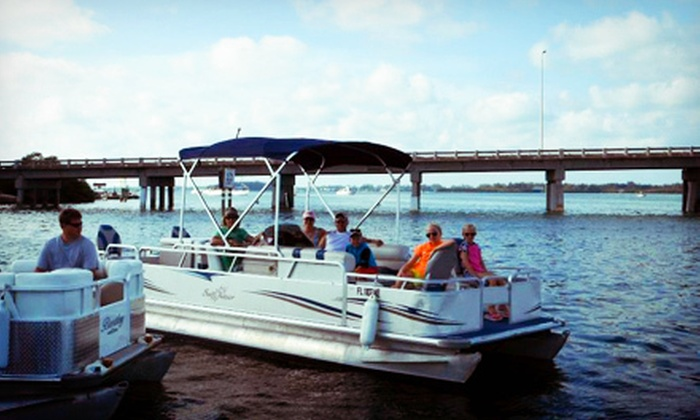 H2O Watersportz - Cortez: Four-Hour Rental of Catamaran for 2 or Pontoon Boat for Up to 14 from H2O Watersportz (Half Off)