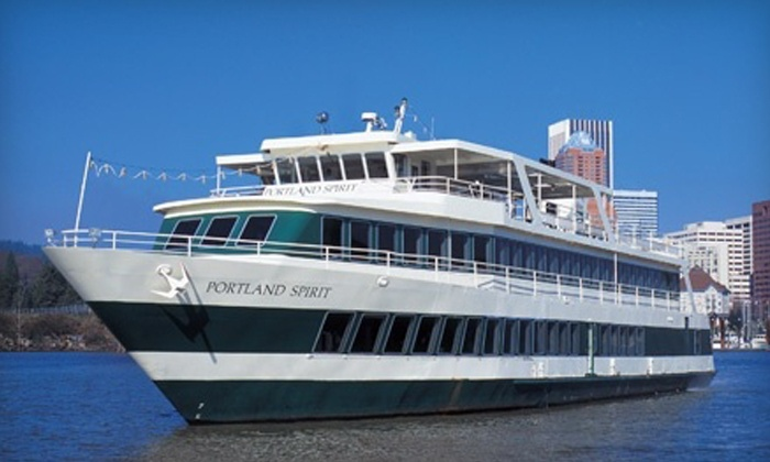 Portland Spirit Cruises - Salmon Springs Dock: $12 for Radical '80s Dance Cruise from Portland Spirit Cruises ($24 Value)