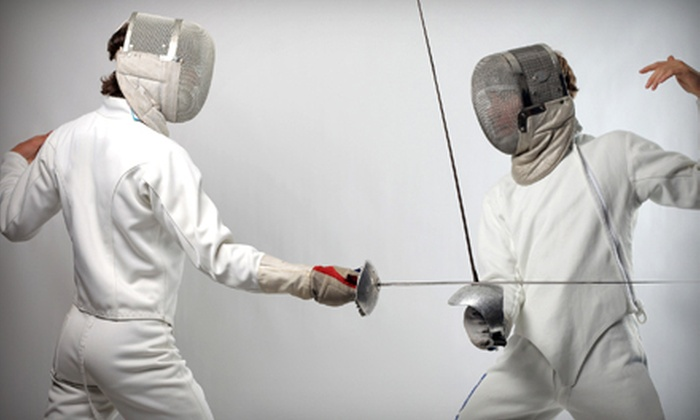 Rising Stars Fencing Academy - RSFA Rising Stars Academy: Four or Eight Fencing Classes for One or Two at Rising Stars Fencing Academy (Up to 75% Off)