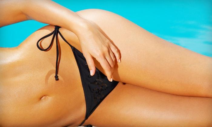NAKED A Boutique For Skin - NAKED A Boutique For Skin: Two or Four Women's Brazilian Waxes at NAKED A Boutique For Skin (Up to 62% Off)
