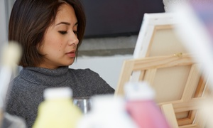 123 Art Classes: Two-Hour Painting Class for One or Two at 123 Art Classes (Up to 46% Off)