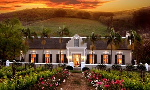 Grande Roche Hotel: Grande Roche Package for Two for R3 699 at Grande Roche Hotel