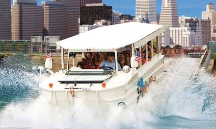 Land-and-Water Tour for Two, Four, or Six from Ride The Ducks San Francisco (Up to 44% Off)