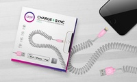 GROUPON: iJoy Apple-Certified Coiled Lightning Cable iJoy Apple-Certified Coiled Lightning Cable