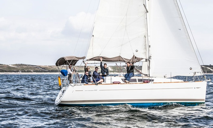 Marina Sailing San Diego - San Diego: American Sailing Association Sailing Lessons for One or Two People at Marina Sailing San Diego (61% Off)